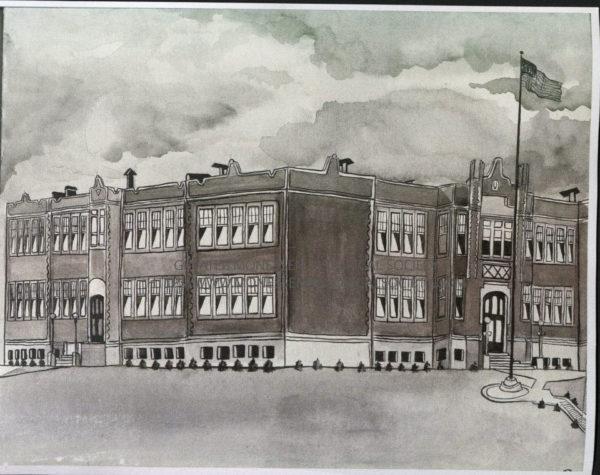 Monessen High School 1915